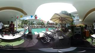 360 Timelapse of Pool Party at the Lanna, Koh Samui
