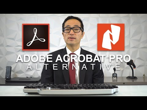 Nitro PDF - Adobe Acrobat Pro Alternative For Law Firms!