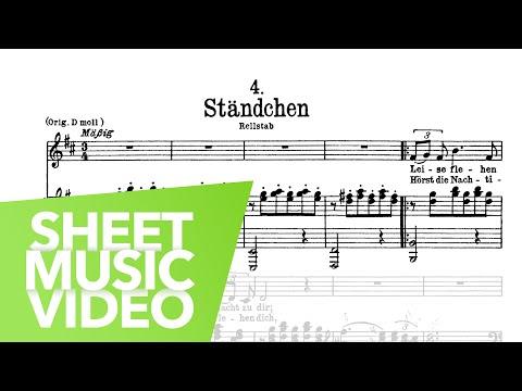 Ständchen - Schwanengesang D.957 - Schubert - Edition Peters