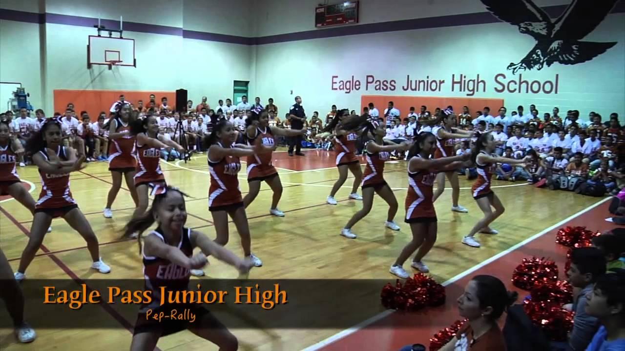 Eagle Pass Junior High Peprally Sept10 2014 Youtube