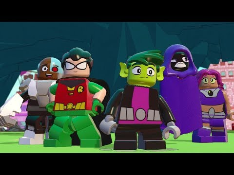 LEGO Dimensions - Teen Titans Go! All Quests (Adventure World)
