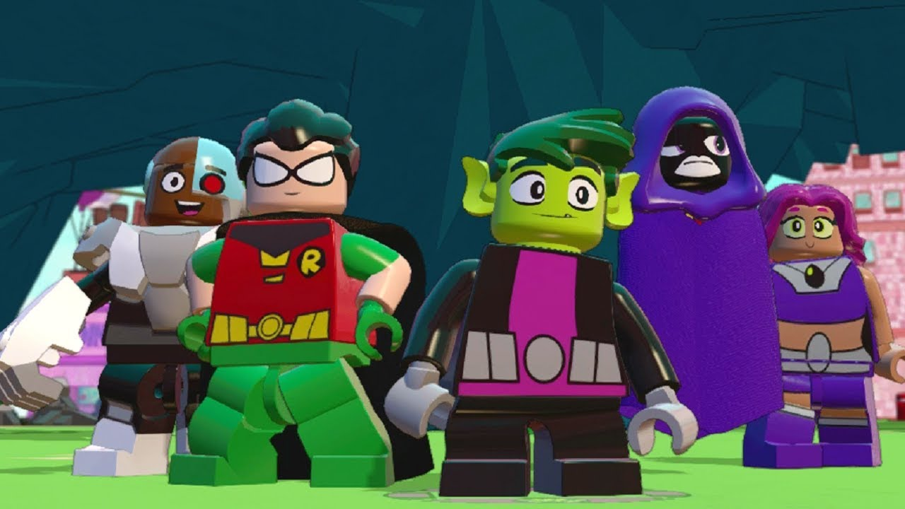 LEGO Dimensions – Teen Titans Go! All Quests (Adventure World)