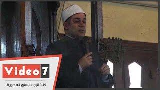 بالفيديو..مظهر شاهين فى خطبة الجمعة: عدم إتقان العمل وغياب الضمير يضر بالاقتصاد المصرى