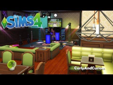 "The Sims 4 - ""Da Ernys"" Bar per Karaoke!! - Speed Build"