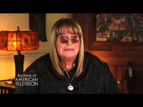 Penny Marshall on Laverne DeFazio on