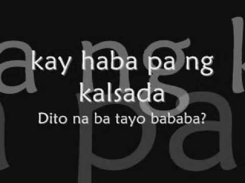 Jimmy Bondoc Hanggang Dito nalang  Lyrics