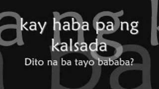 Repeat youtube video Jimmy Bondoc Hanggang Dito nalang - Lyrics