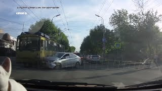 Аварии.Подборка на видеорегистратор №11 за Май 2019