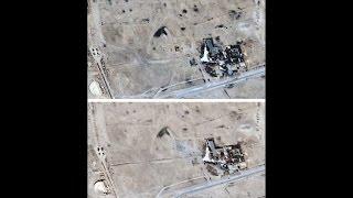 Imagens de satélite confirmam a destruição do templo em Palmira