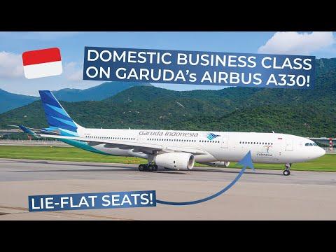 TRIPREPORT | Garuda Indonesia (BUSINESS CLASS) | Airbus A330-300 | Denpasar - Jakarta