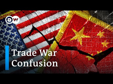 US Administration contradicts China and itself in trade war announcements | DW News