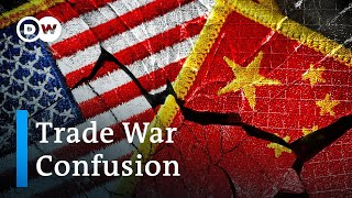 US Administration contradicts China and itself in trade war announcements   DW News