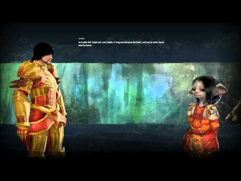 Guild Wars 2 - Personal Story - Suspicious Activity - Weird Voice Over