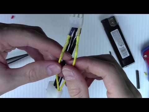 Штекер Pci-e 6 Pin для видеокарты своими руками из 24 Pin