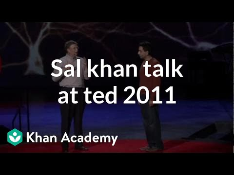 Salman Khan TED Talk 2011 from ted.com