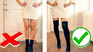 ❌  8 IMPORTANT WINTER CLOTHING HACKS THAT ARE ACTUALLY USEFUL ❌  HOLIDAY FASHION STYLE HACKS