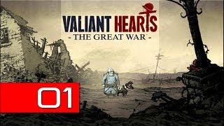 Valiant Hearts: The Great War PC (Hard) 100% Walkthrough 01 (Prologue)