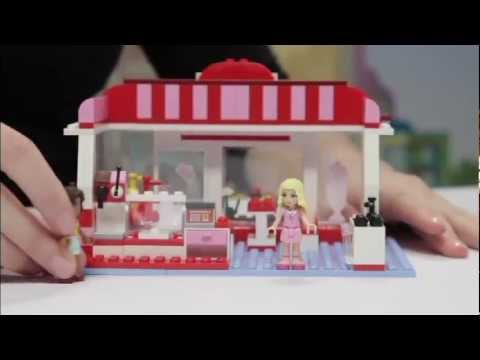 Lego Friends Building Cafe Youtube
