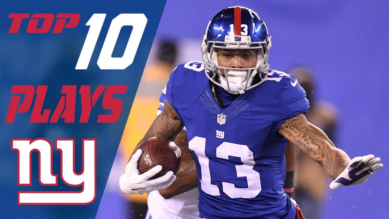 various colors ccd6d fd7f0 Giants Top 10 Plays of the 2016 Season | NFL Highlights