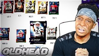 The OLDHEAD SQUAD! Oldest Players In Madden 19 Ultimate Team