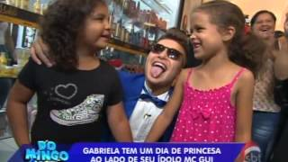 "Domingo Legal (15/12/13) - MC Gui em ""A Princesa e o Plebeu"""