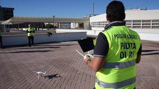 Bari, vigili con i droni a caccia di abusi e reati ambientali