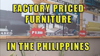 Factory Priced Furniture In The Philippines