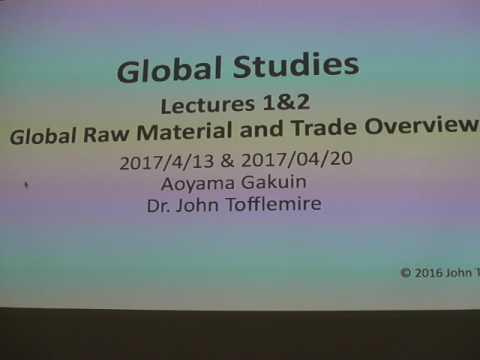Global Studies Lecture 20170413