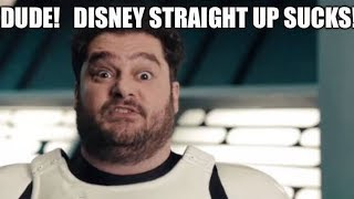The REAL REASON why DISNEY CLAIMED STAR WARS THEORY'S VADER FAN FILM...