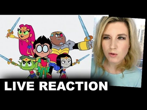 Teen Titans Go to the Movies Trailer REACTION