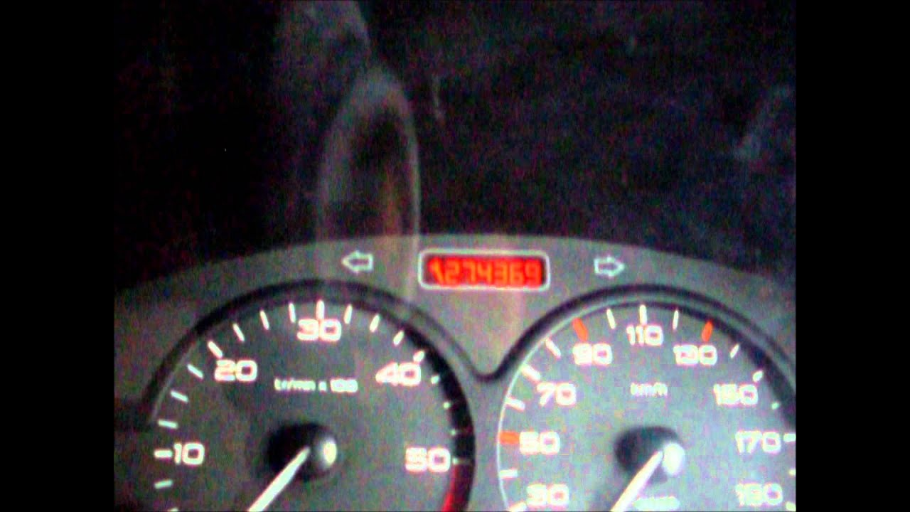 tacho pro 2008 peugeot 206 odometer youtube. Black Bedroom Furniture Sets. Home Design Ideas