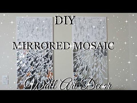 DIY MIRROR MOSAIC WALL ART PIER ONE INSPIRED | PETALISBLESS🌹