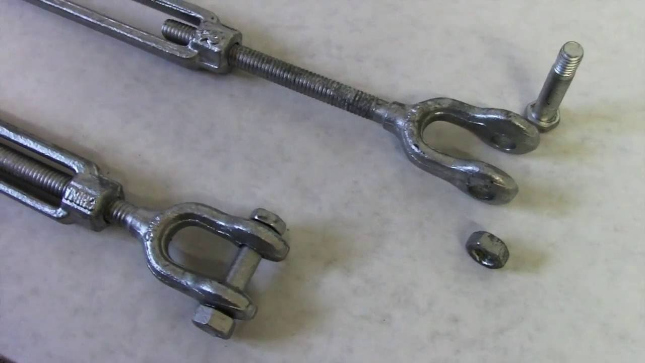stainless metal turnbuckle