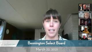 Bennington Select Board // 3-22-21