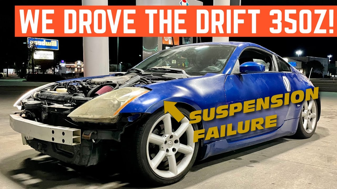 FIRST DRIVE In My $1,500 NISSAN 350z DRIFT Car *Doesn't Go Well* - download from YouTube for free