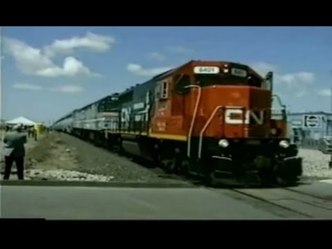 CN Fan Trip into St. Clair River Tunnel 1990s