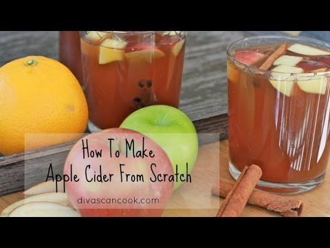 How To Make Amazing Apple Cider From ScratchEasy Apple Cider Recipe