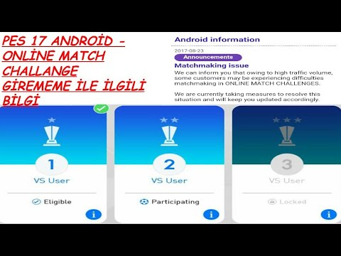 Pes 2017 android matchmaking