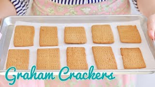 Making Your Own Homemade Graham Crackers | Bigger Bolder Baking