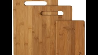 Review:totally Bamboo 20-7930 3-piece Cutting Board Set