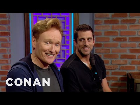 """""""Assassin's Creed Origins"""" Clueless Gamer With Aaron Rodgers — Coming 10/26  - CONAN on TBS"""