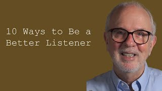 10 ways to be a better listener good listeners customer service training