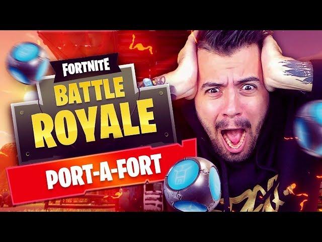 NUOVI COMANDI PROFESSIONISTA DELLA COSTRUZIONE!! IL KING DEI PORT-A-FORT - Fortnite Battle Royale