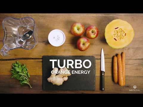 Superfood Rezepte von GoPrimal | Turbo Orange Energy