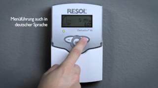 РЕСОЛ Solarregler DeltaSol® плюс BS