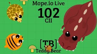 Help from a Friend + Upgrade Chart Update in [TB] Mods | Mope.io Live 102 CII | [TB] Teddy Bear