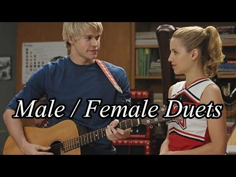 TOP 50 Glee - Male / Female Duets