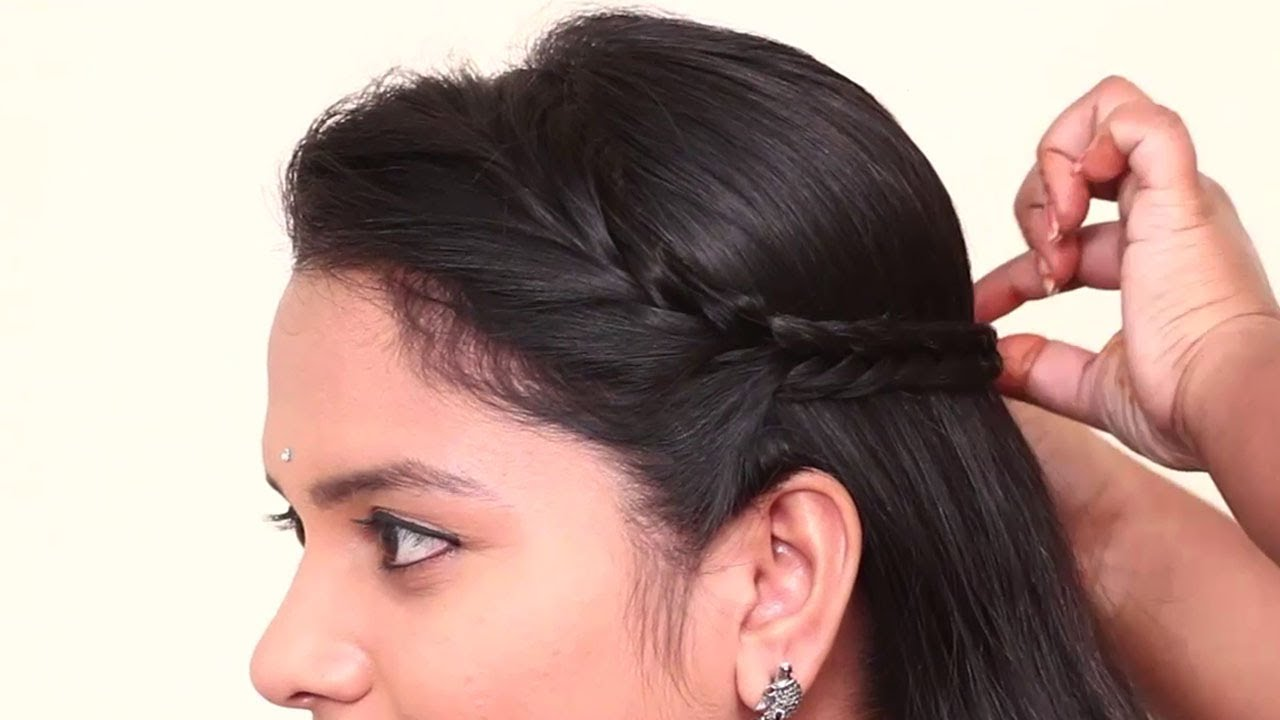 Easy Hairstyles for Open Hair | #hairstyles2021 @PlayEven Fashions
