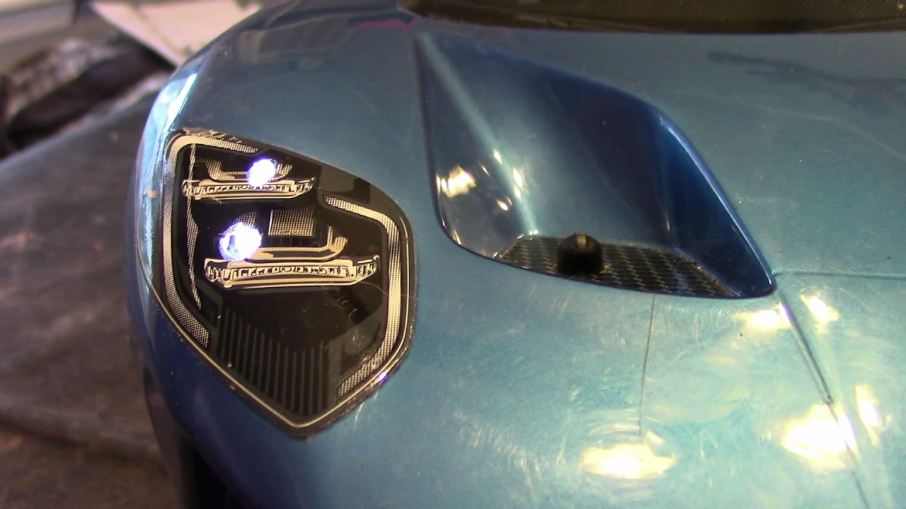 Ford Gt With Light Kit
