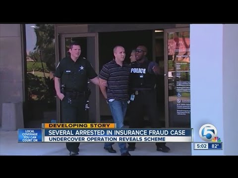Several arrested in insurance fraud case